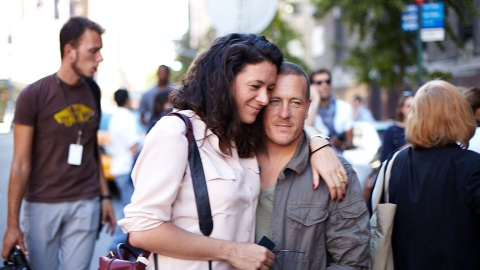 Fashion Week Street Style: The Sartorialist And Garance Doré Step Out From Behind The Lens | StyleCaster