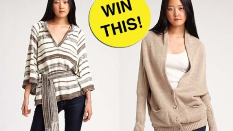 Shop Saks.com To Win Comfy Fall Sweaters From Goddis | StyleCaster