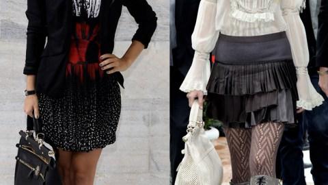 Rachel Bilson VS Taylor Swift Style Standoff: Milan Edition | StyleCaster