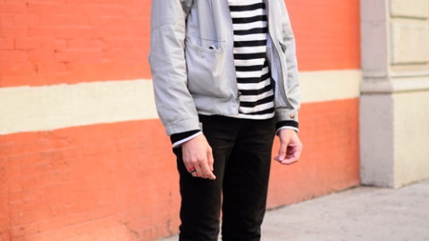 Street Style New York: Who Doesn't Love Cute Hipster Boys?   StyleCaster