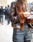 Paris Street Style: A Lesson In Leather