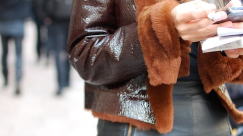 Paris Street Style: A Lesson In Leather   StyleCaster