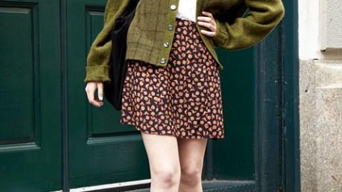 Street Style New York: Quirky Schoolgirl | StyleCaster