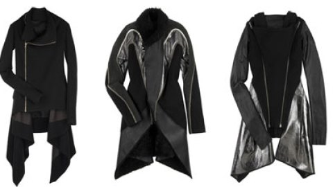 I Want, I Need, I Can't Live Without: Rick Owens Coats | StyleCaster