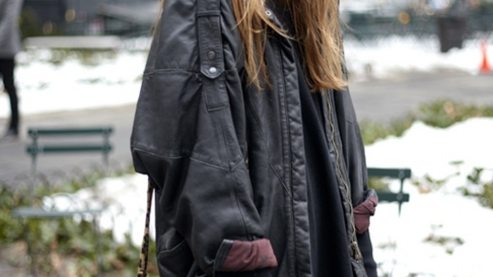 IMG Model's Swedish Beauty On The Lower East Side – Tilda Lindstam | StyleCaster