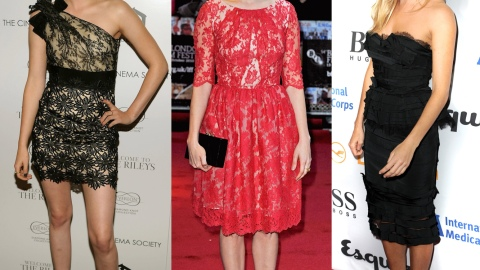 Kristen Stewart, Michelle Williams And Sienna Miller Battle It Out For The Best In Lace | StyleCaster