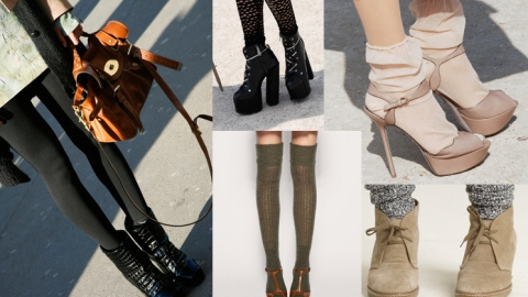 Fall 2010 Fashion Trends: Sock 'Em Dead | StyleCaster