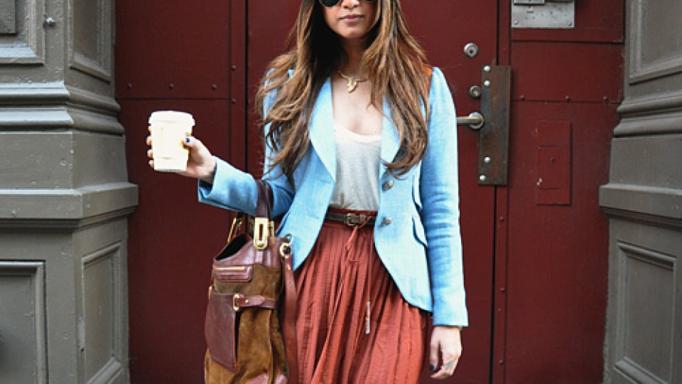 Street Style New York: A Walk On The '70s Side | StyleCaster