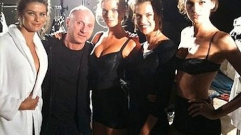 Victoria's Secret Angels At D&G, Karl Talks Smack On Coco And More! | StyleCaster