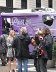 Katy Perry Loose On NYC Streets In Ice Cream Truck