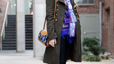 Street Style Tennessee: Boho Military | StyleCaster