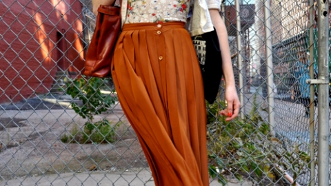 Street Style: Lessons In Pretty | StyleCaster