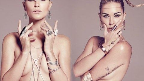 Erin Wasson's Jewelry Only Shoot, Jerry Hall On LSD! | StyleCaster