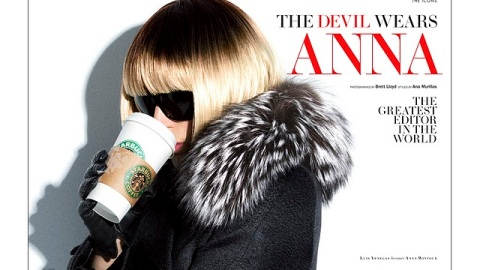 Anna Wintour In Drag, Designers Now Show Boob In Ads! | StyleCaster