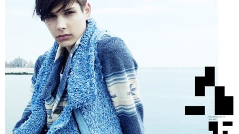 Ford Model's Ethan James: Model Moment | StyleCaster