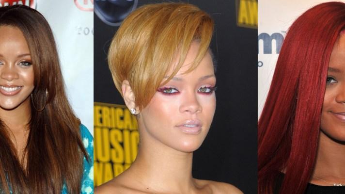 Rihanna Beauty Evolution