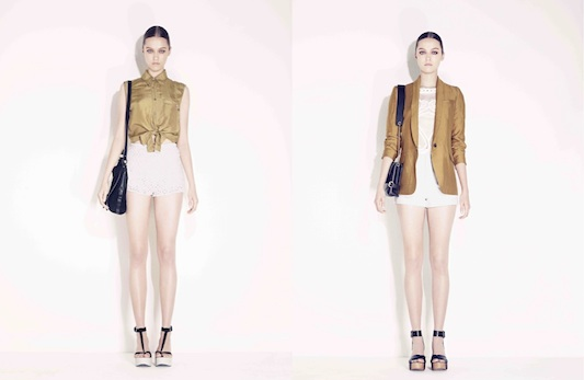French Style: Maje Works It For Spring 2011