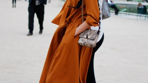 Street Style: Get To Know The Color Of The Season   StyleCaster