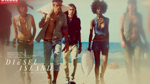 Diesel Island: The Denim Brand Goes To Extremes | StyleCaster