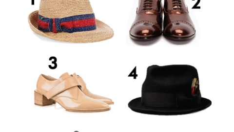 Spring Essentials: Hats And Oxfords   StyleCaster