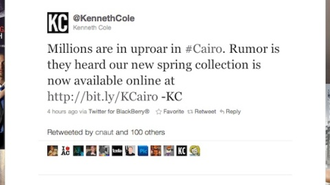 Kenneth Cole: Top 5 @KennethColePR Tweets   StyleCaster