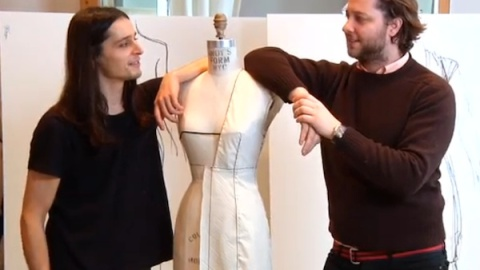 Olivier Theyskens Teaches Us How To Draw, Pronounce His Name | StyleCaster