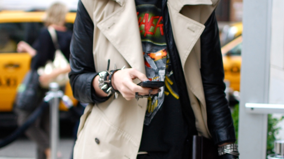 Street Style: Trench Twist   StyleCaster