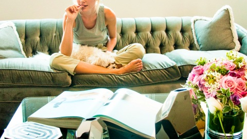Jessica Stam: At Home With Vogue | StyleCaster