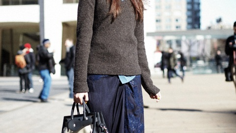 Street Style New York: Fit To Be Layered | StyleCaster