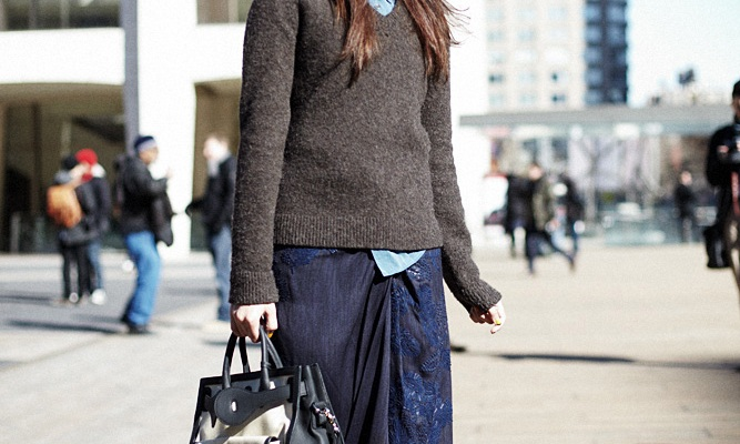 Street Style New York: Fit To Be Layered
