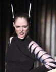 Lady Gaga Dry-Humps and Coco Rocha Gives Good Face At Mugler
