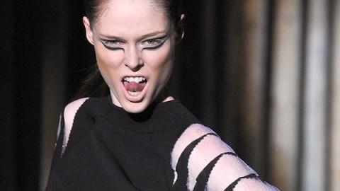 Lady Gaga Dry-Humps and Coco Rocha Gives Good Face At Mugler   StyleCaster