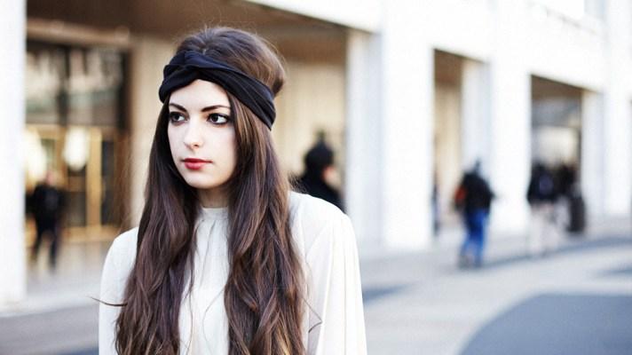 Street Style New York: Girl With Turban