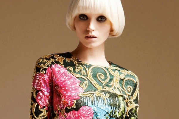 Abbey Lee In Atelier Versace Will Make Your Jaw Drop