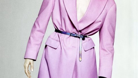 Karen Elson Debuts New Blunt Blonde Bob In Vogue | StyleCaster