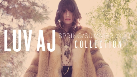 LUV AJ Spring/Summer Lookbook, Obsession Du Jour | StyleCaster