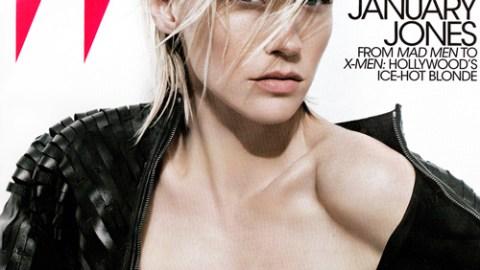 January Jones Is So Kate Lanphear in W | StyleCaster