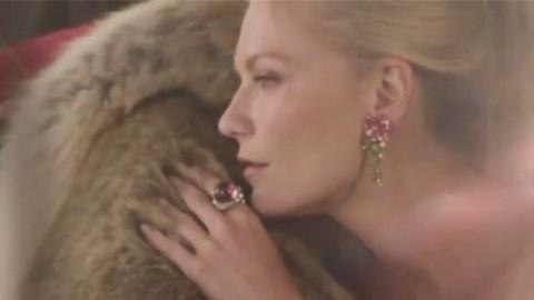 Kirsten Dunst Is Naked, Bejeweled For Bulgari (Video) | StyleCaster