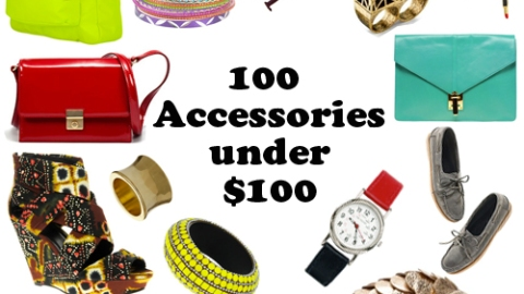 100 Accessories to Buy Right Now: All Under $100 | StyleCaster