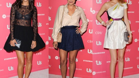 A-Line Mini Skirts at the Us Weekly Party: Mini Trend Alert!   StyleCaster