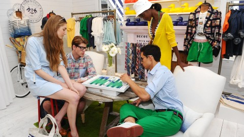 Tommy Hilfiger's Preppy Pop Up and His Secrets to Prep Style | StyleCaster