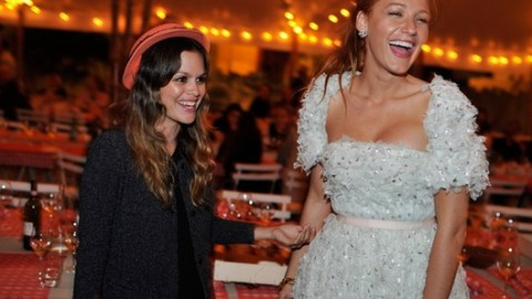 Were Blake Lively & Rachel Bilson at the Same Chanel Party? | StyleCaster