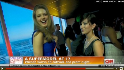 OMG Lindsey Wixson Goes To Prom is On Video | StyleCaster