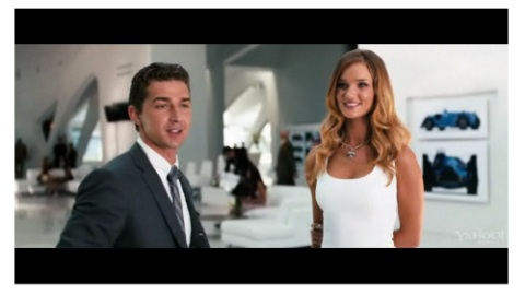 Model/Actress! See Rosie Huntington-Whitely in Transformers | StyleCaster
