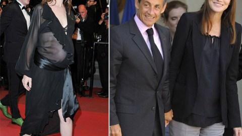 Charlotte Gainsbourg & Carla Bruni: Maternity Style Standoff   StyleCaster