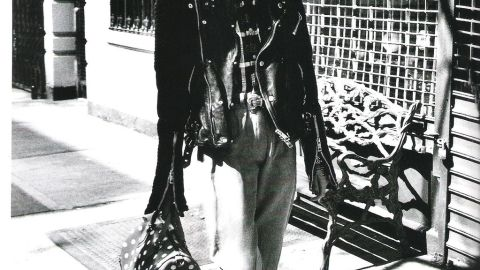 Sasha Pivovarova Does Early '80s Madonna For Vogue Paris   StyleCaster