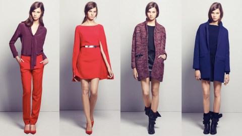Maje's Fall 2011 Lookbook is Major   StyleCaster