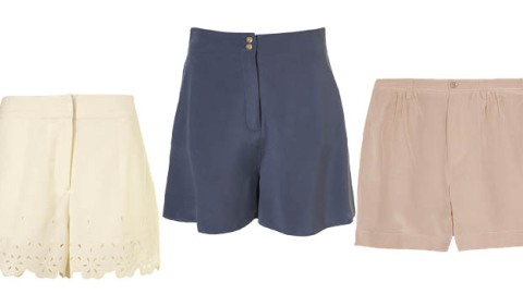 Silky, Pretty, Sometimes Slouchy Shorts: 10 to Wear Now | StyleCaster