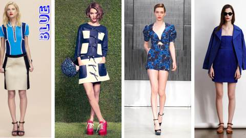 Resort 2012 Trend: A Palette of Primaries | StyleCaster