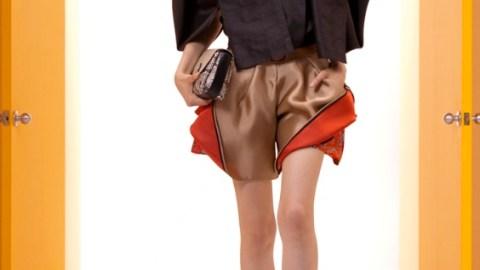 Balenciaga Resort 2012: Topping Futurism Off With a Visor | StyleCaster